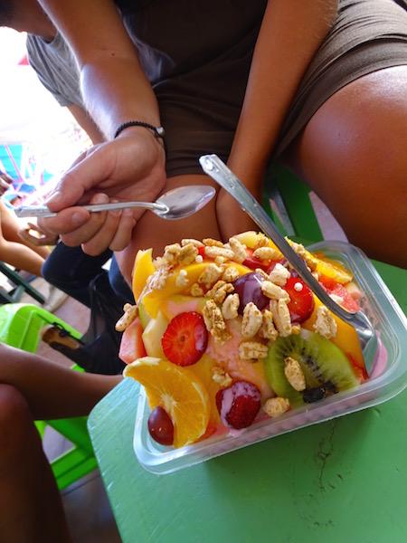 Salade de fruit à Sucre