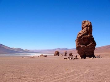 Monjes de La Pacana dans le désert de Tara