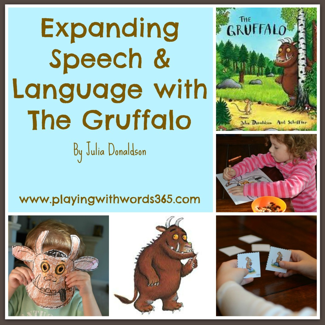 The Gruffalo Activities For Speech Amp Language Virtual