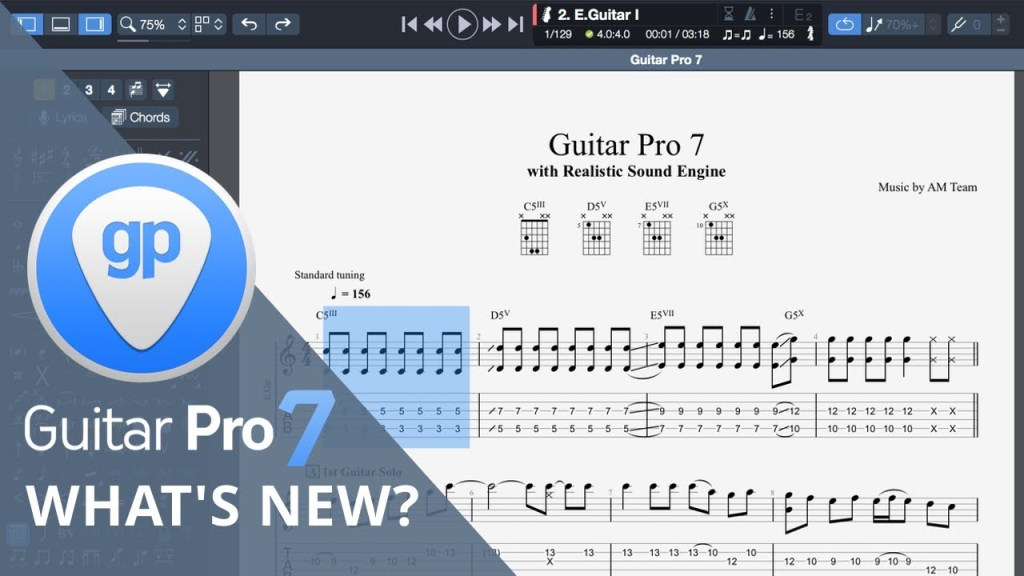 guitar pro 7 review, guitar pro 7 upgrade, guitar pro 7 vs 6