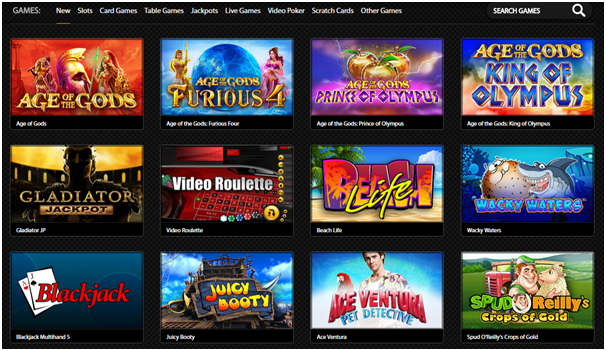 Casino.com Canada Games