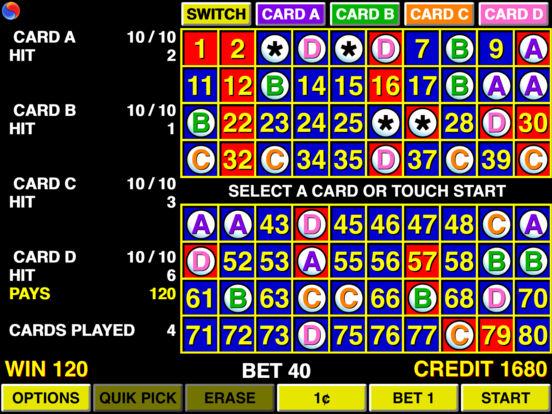 Keno 4 multicard