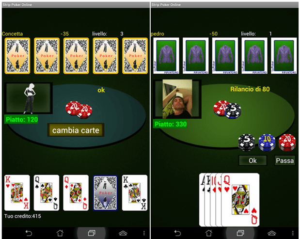 Strip Poker Android
