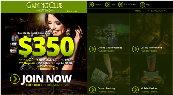 Gaming Club Casino Canada