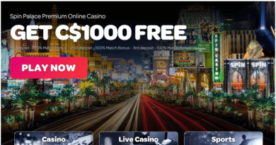 Spin Casino Welcome Bonus