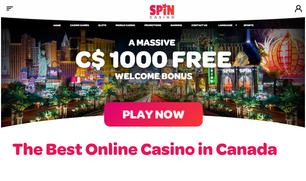 Spin Casino Canada to play Keno