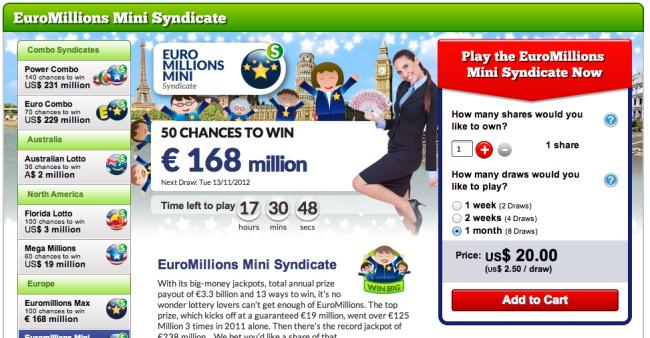 Online-Lottery-Website