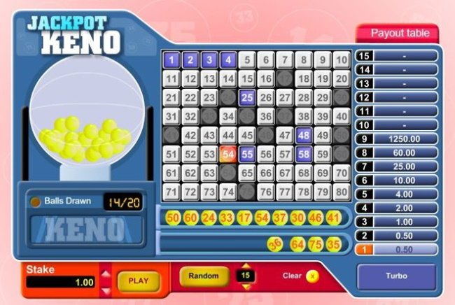 Top 6 Video Keno Online Games to Play for Free and for Real Money