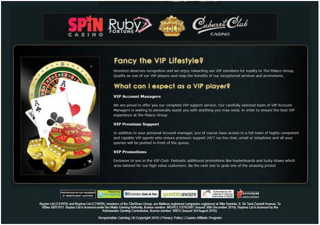 Spin Casino VIP