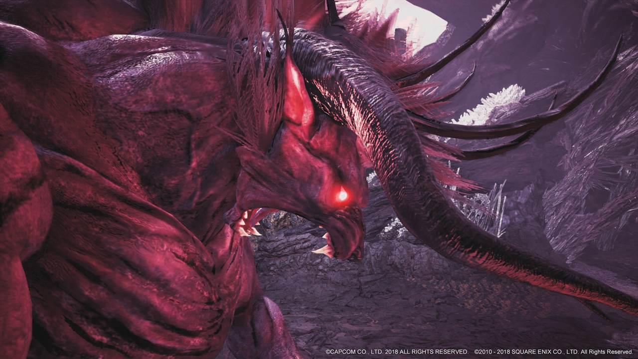 Monster Hunter World Der Behemoth Zeigt Sich In Einem