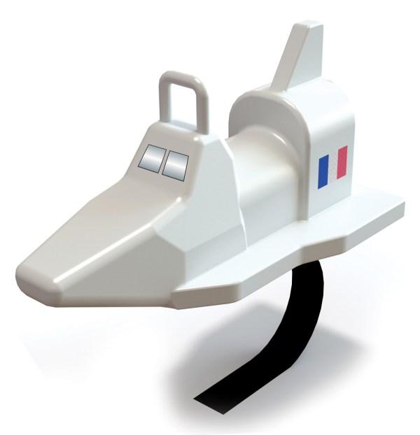 Space Shuttle Spring Rider - PlayMark, Inc. - PlayMark, Inc.
