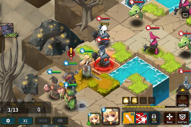Fantasy War Tactics Battleground
