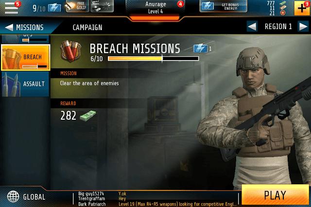 Kill Shot Bravo Breach Mission