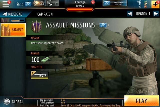 Assault Missions