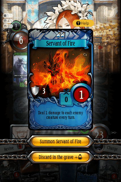 Servant of Fire Card