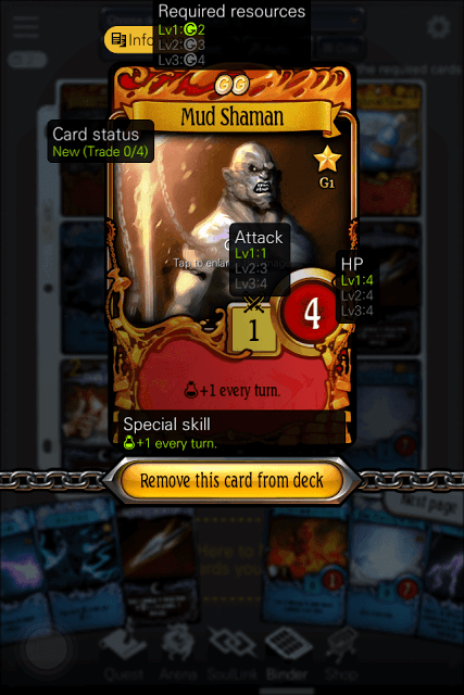 Level-Up Cards