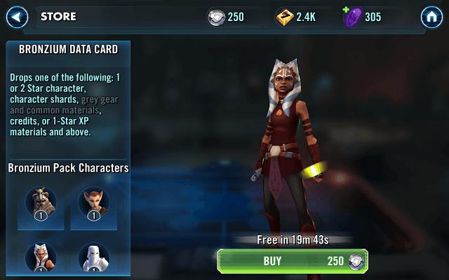 Unlocking a Star Wars Character
