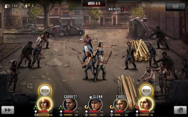 Make Smart Use of Rush to Defeat Zombies