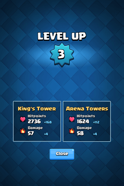Level Up to Upgrade Towers