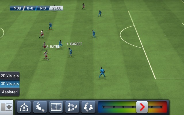 Get the best tactics in PES Club Manager's match mode