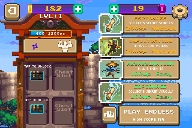 Types of Missions in Ninjawesome