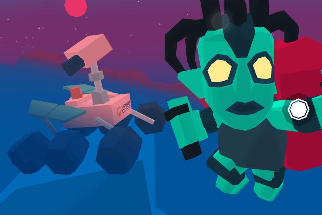 Take a Selfie in Mars