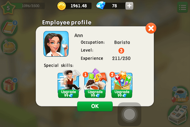 Employee Profile Special Skills