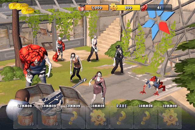 Zombie Hunt Mini-Game