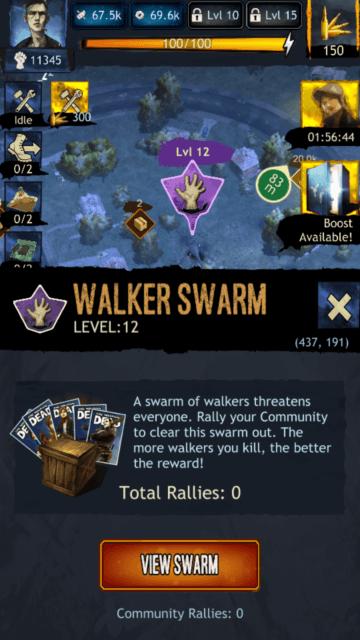 Walker Swarm