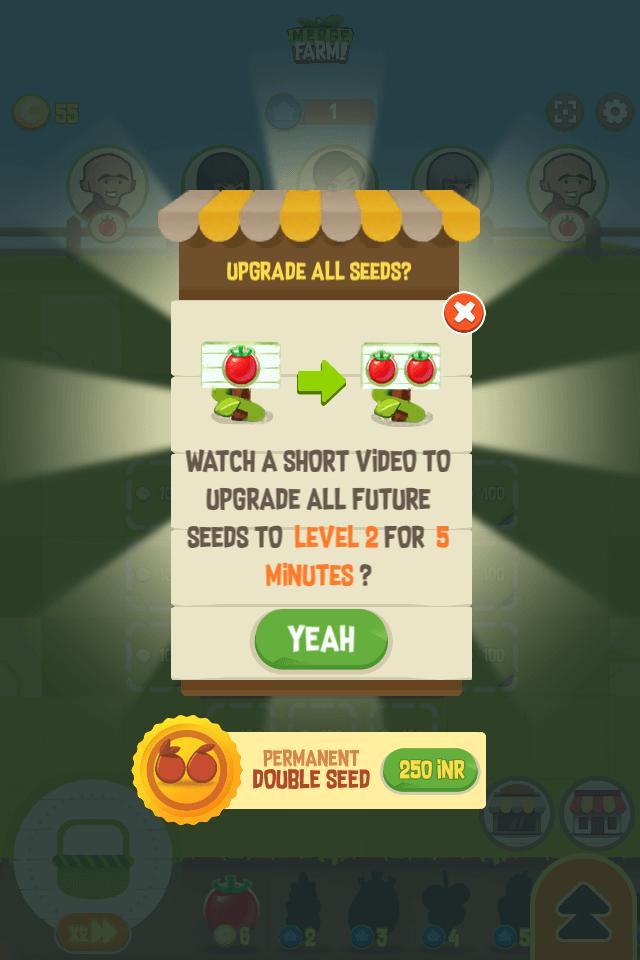 Crop Upgrade Boost