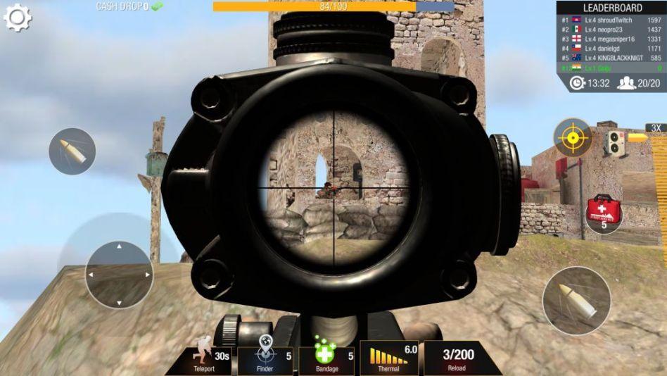 Bullet Strike - Sniper Battlegrounds