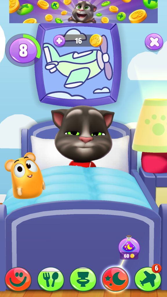 Tom is Feeling Sleepy