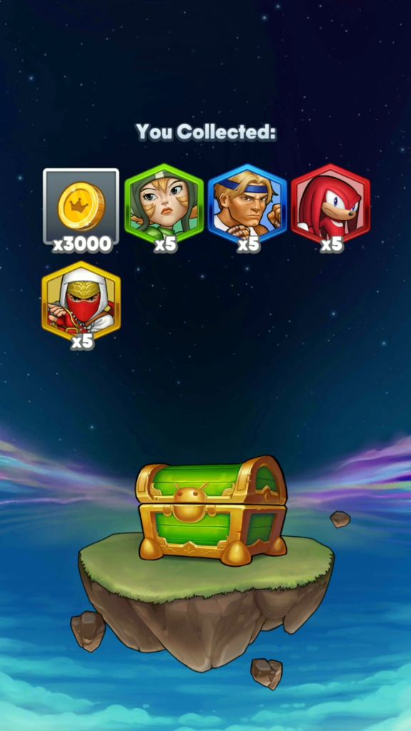 Get Shards from Gift Chests