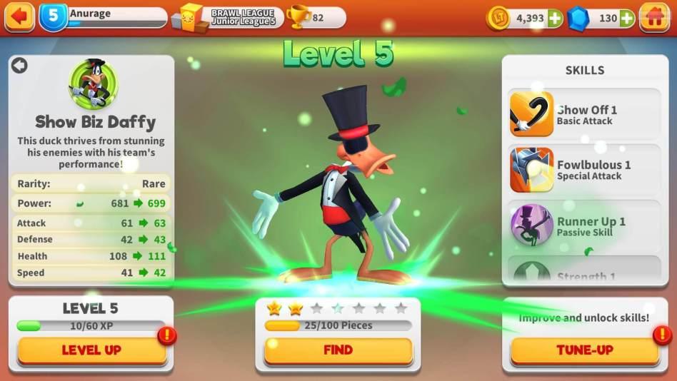 Level Up Daffy Duck