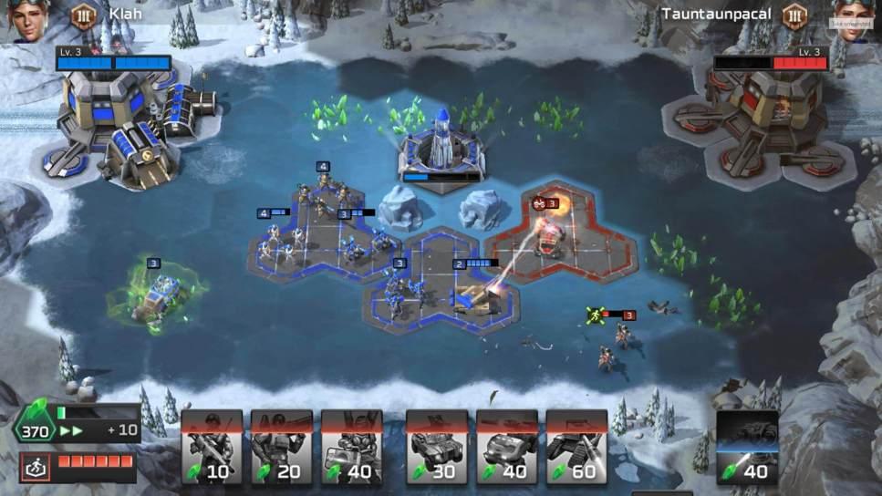 C and C Rivals - Capture all Sectors of a Platform