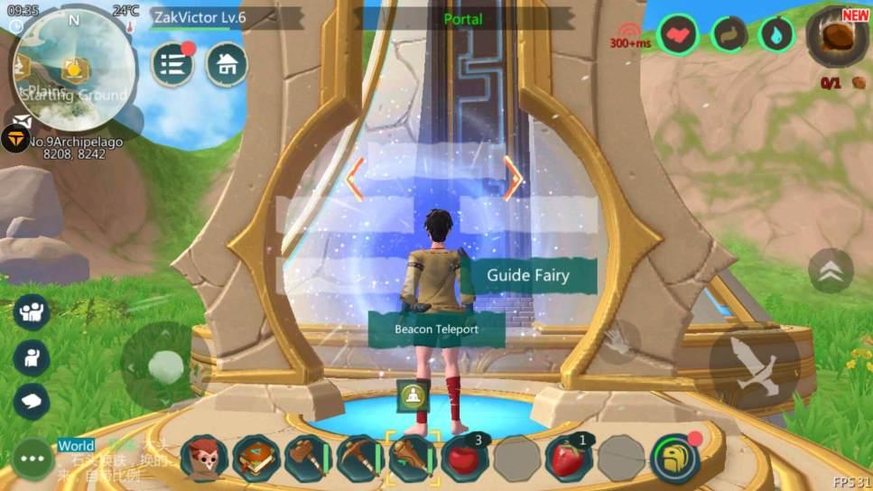 Use beacon to Teleport Avatar