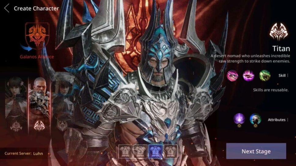 AxE - Alliance vs Empire Galanos Character