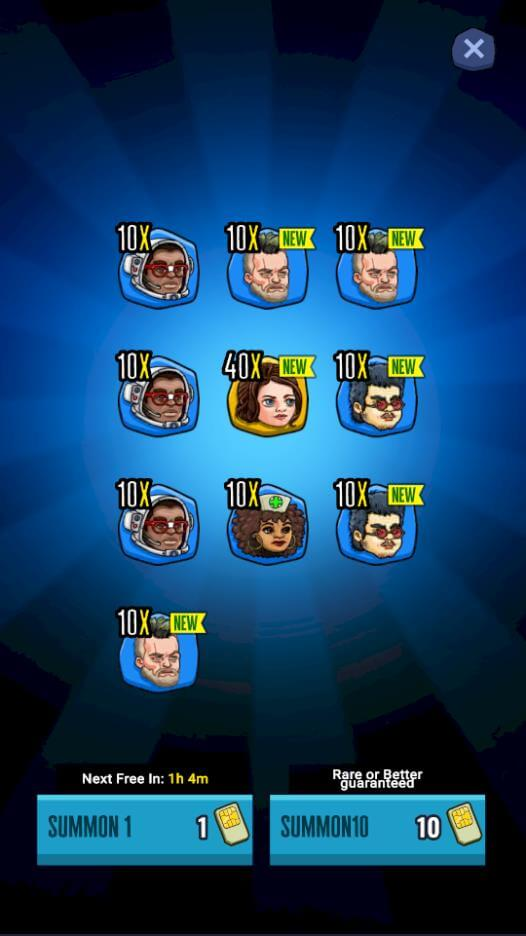 Summon New Heroes