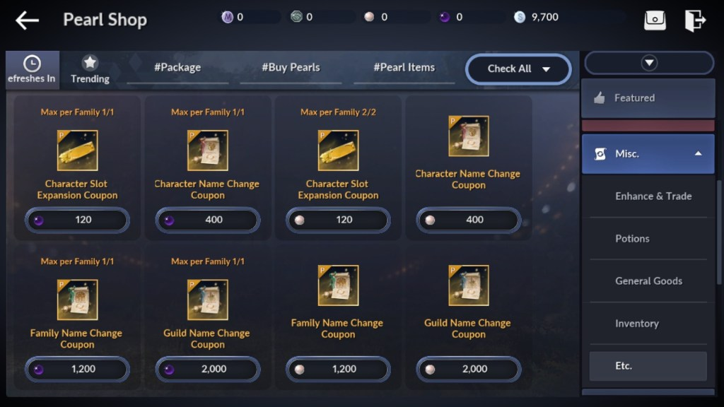 You will need expansion coupons to unlock character slot in Black Desert Mobile