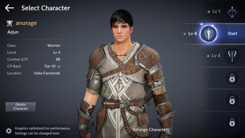 Black Desert Character Slots