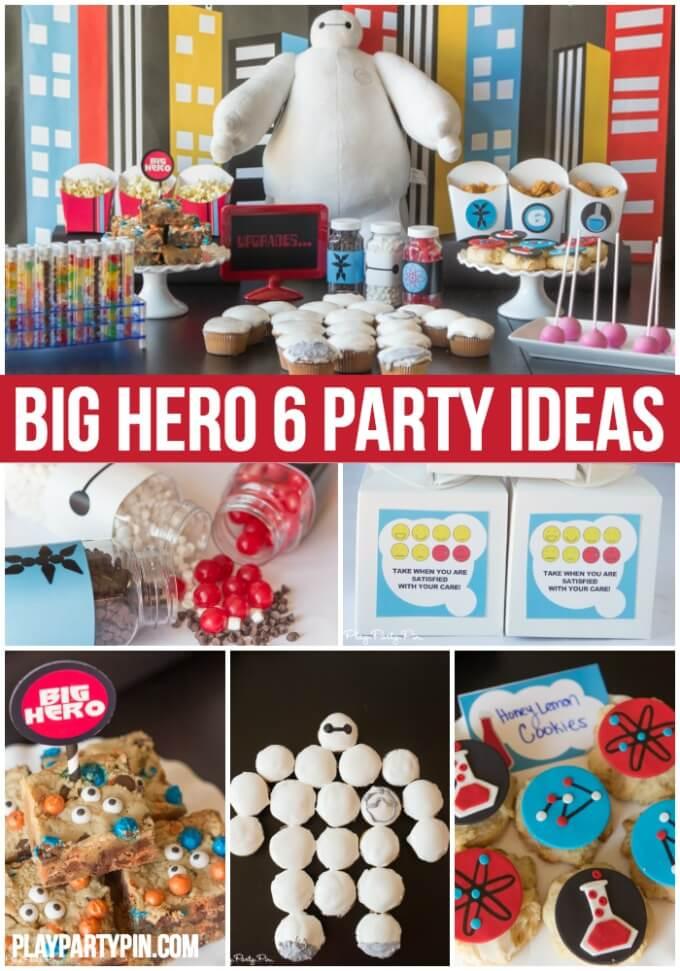 Big Hero 6 Birthday Decorations