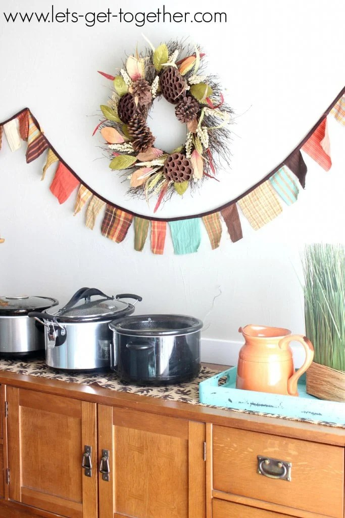 A soup swap is one of the most creative fall party themes