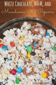 White Chocolate M Amp M And Macadamia Nut Popcorn And