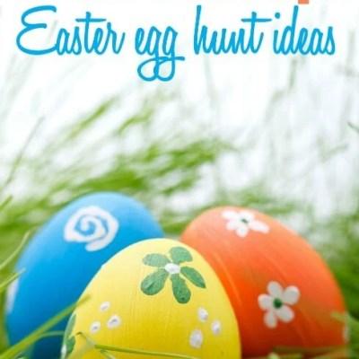 10+ Fun and Creative Easter Egg Hunt Ideas