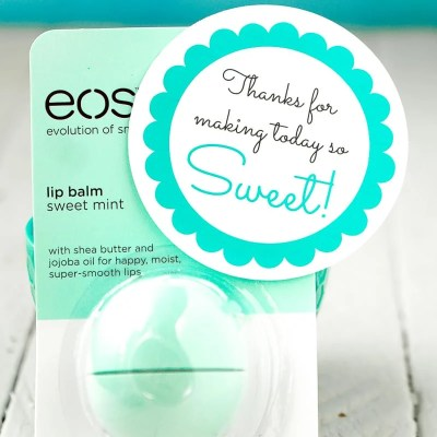 Simple Baby Shower Favors