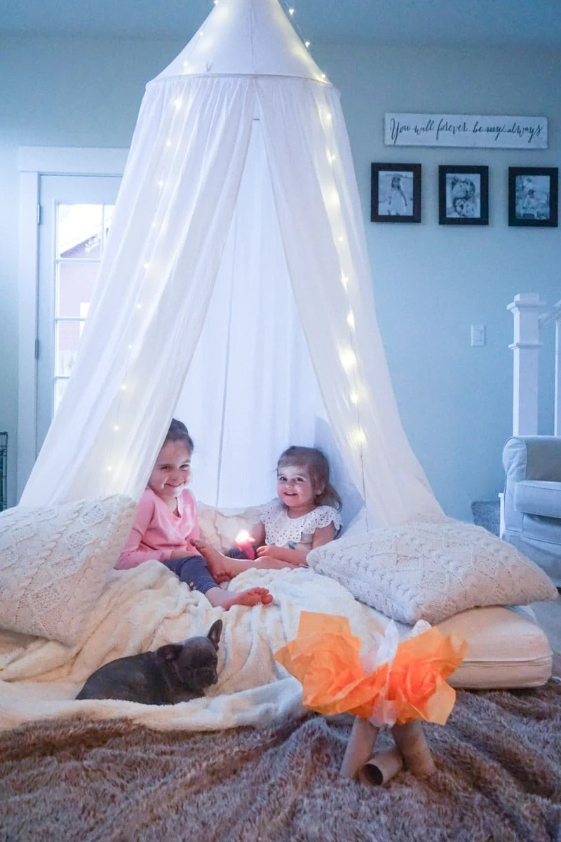 10 Indoor Camping Ideas To Do At Home Play Party Plan