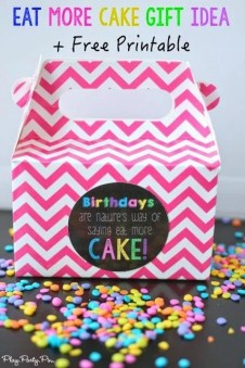 101 Inexpensive Birthday Gift Ideas And Eat More Cake Printable