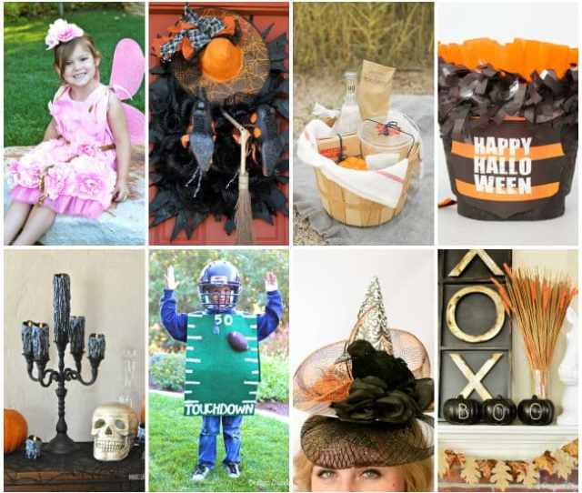 Over  Fabulous Halloween Ideas Shared By Bloggers Halloweenideas Halloween