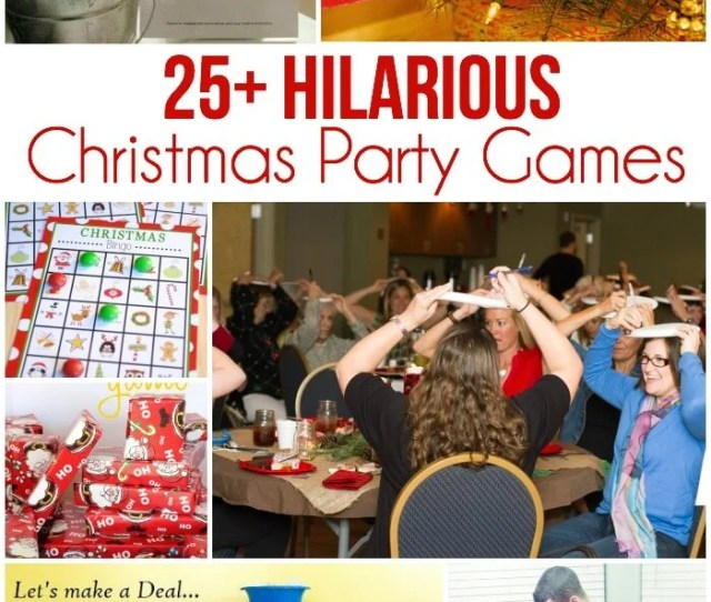 Of The Best Christmas Party Games