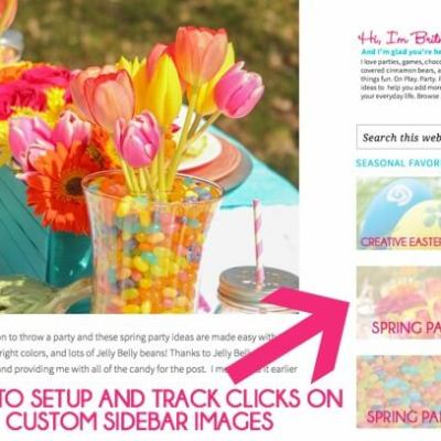 How to Add Custom Sidebar Images and Track How Well They're Performing